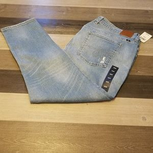 Lucky brand Skinny Light Wash Distressed Jeans